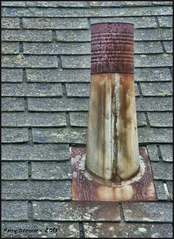 Capped chimney