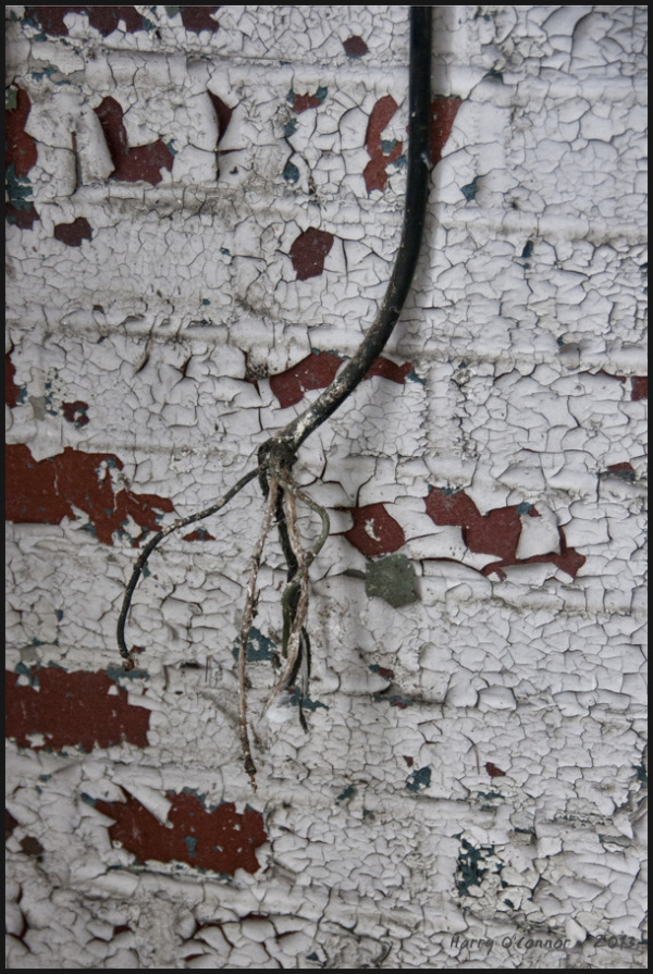 Exposed wire