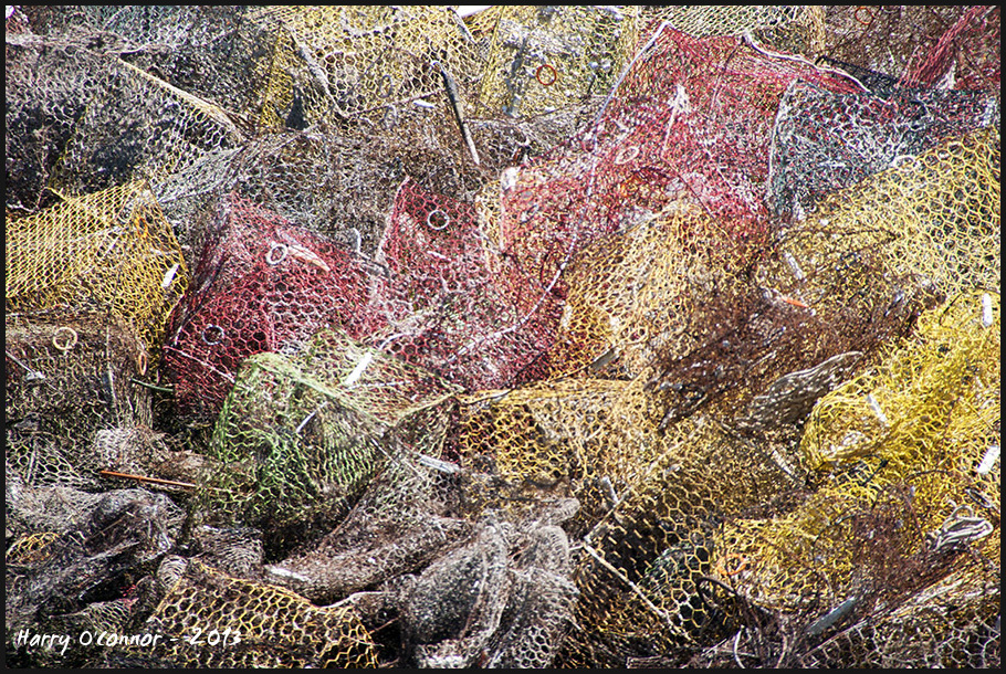Discarded crab traps - Tangier