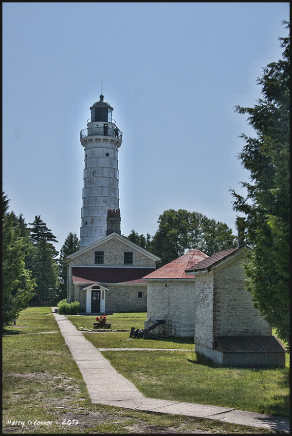 Walkway to Cana Island Lighthouse