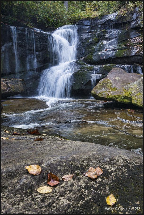 Waterfall on Cedar Rock Creek