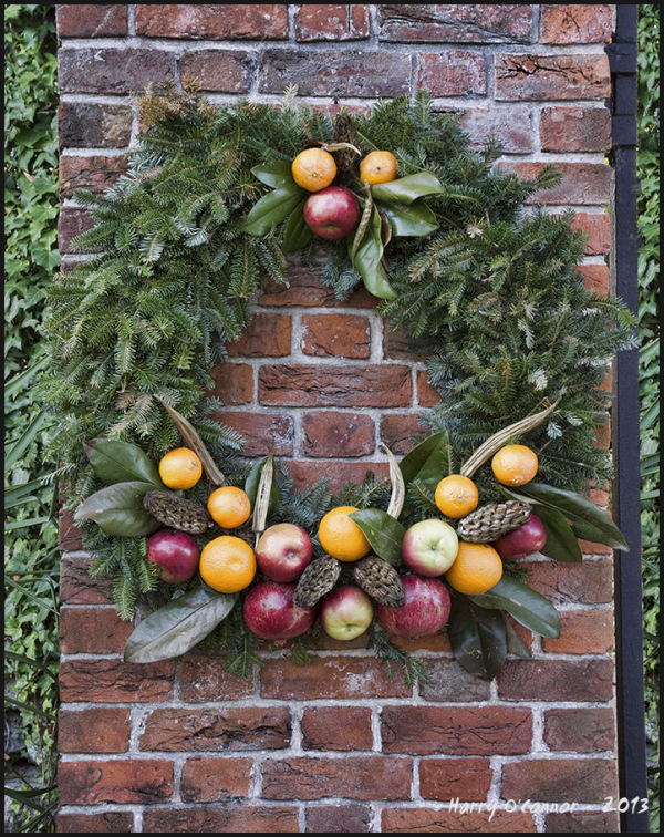 Tryon Palace wreath