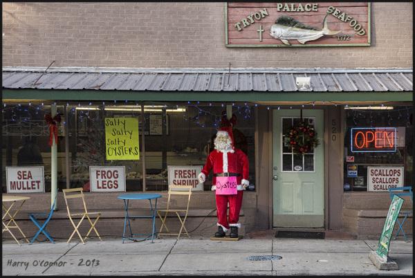 Santa's seafood