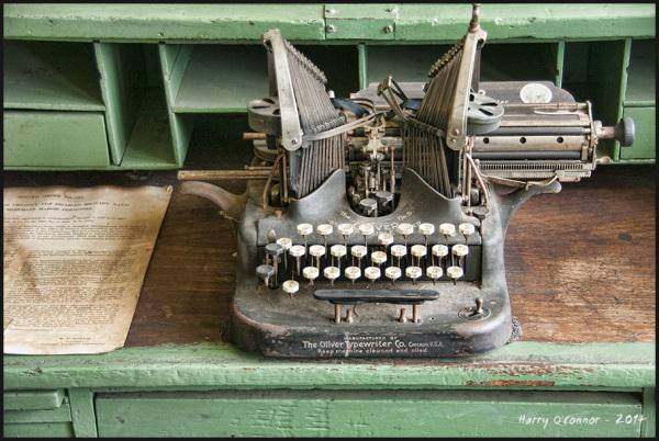 Depot typewriter