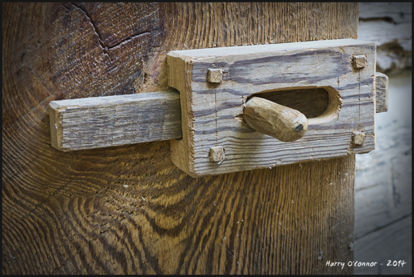 Hand made  latch