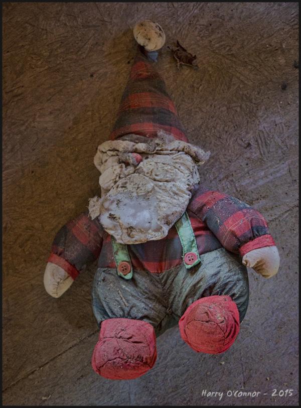 Smushed Santa