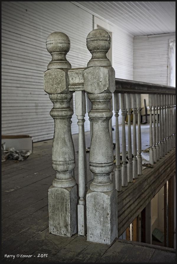 Posts and railing