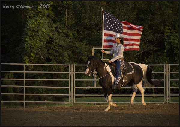 even cowgirls get the red white and blues