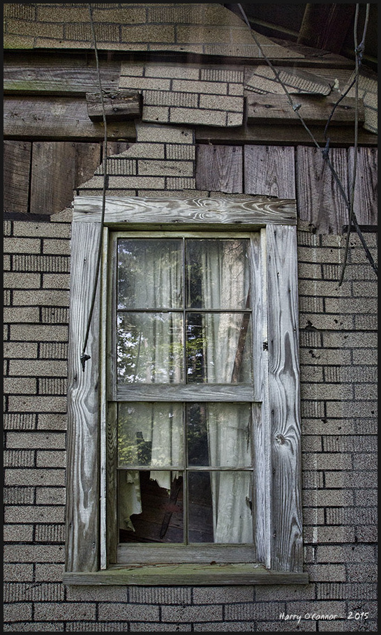 Tattered curtain