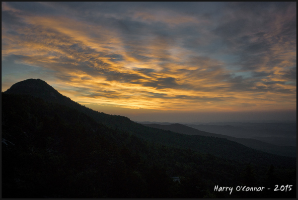 Grandfather Mountain sunrise