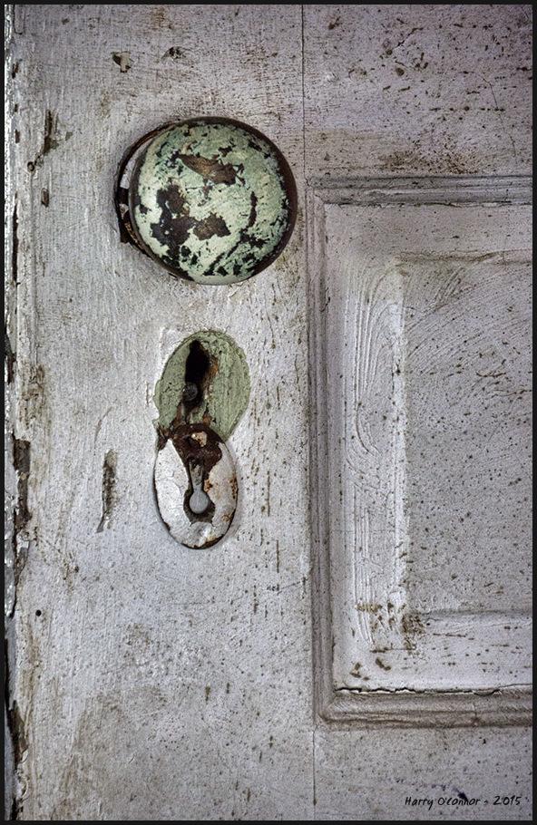 Well used knob