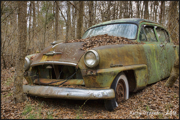 Rusty Plymouth