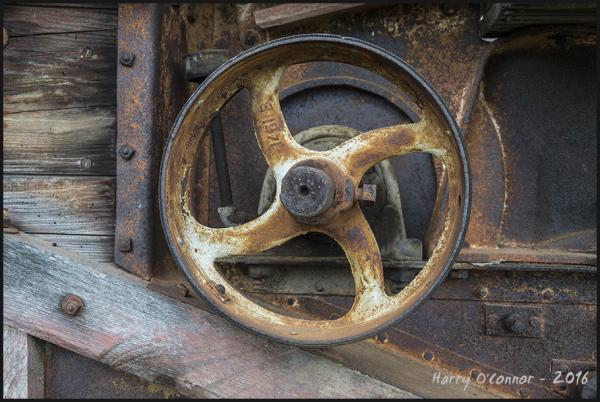 Rusty drive wheel