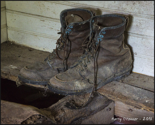 Well used boots