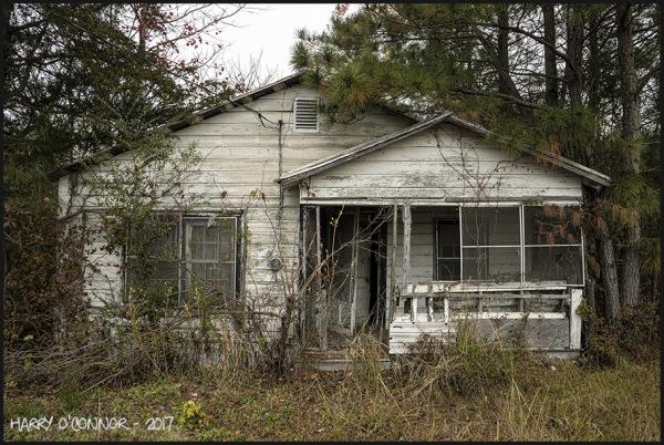 Little white farmhouse