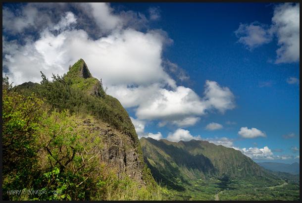 North Shore peak
