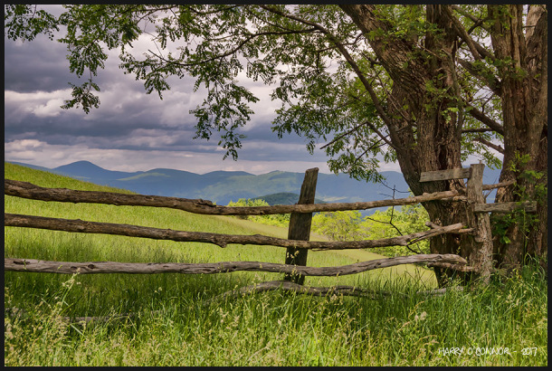 Blue Ridge background