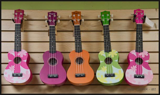 ukulele wall