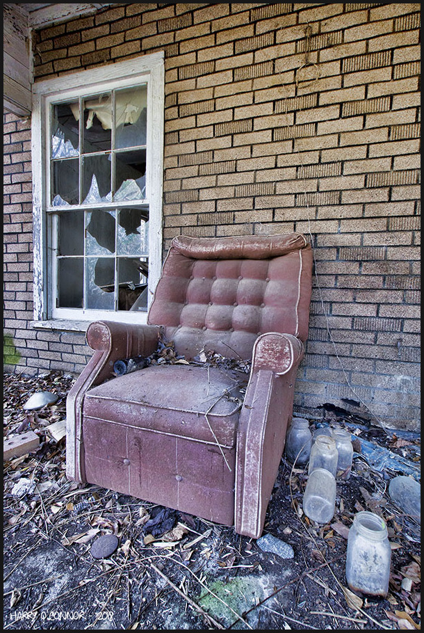 Front porch recliner