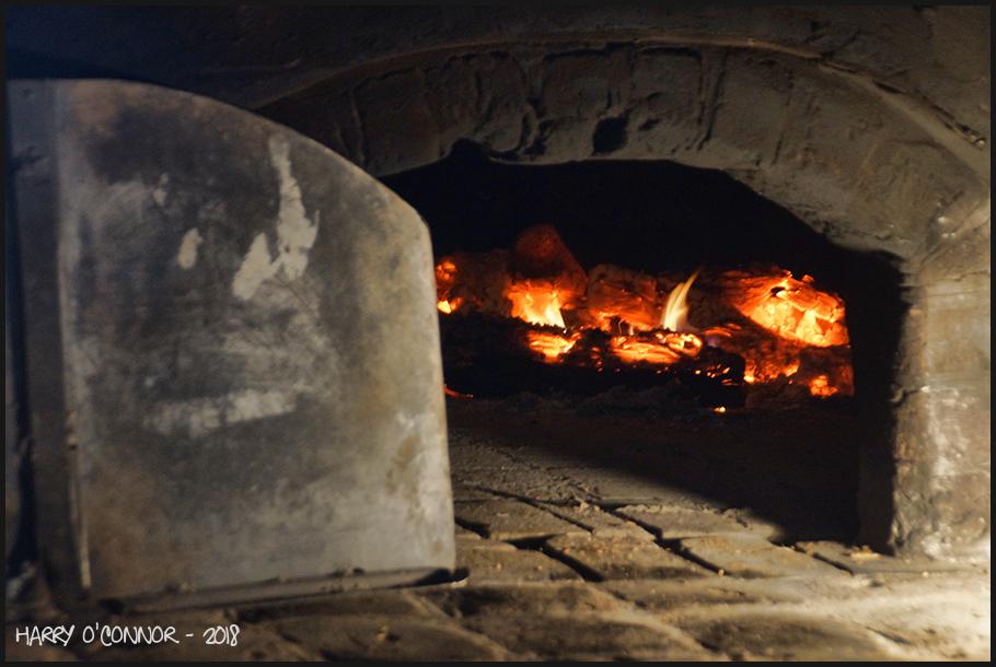 Wood fired hearth