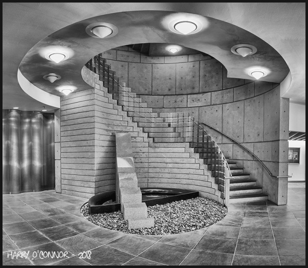 Spiral Staircase Lobby