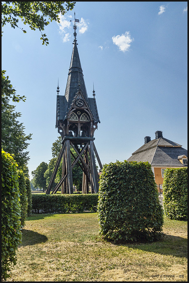 Lövstabruk clock tower