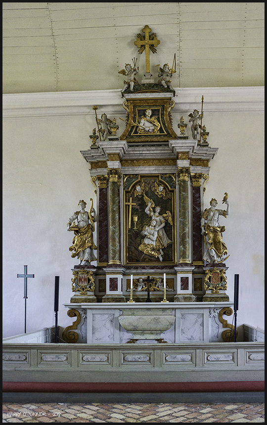 Lövstabruk church altar