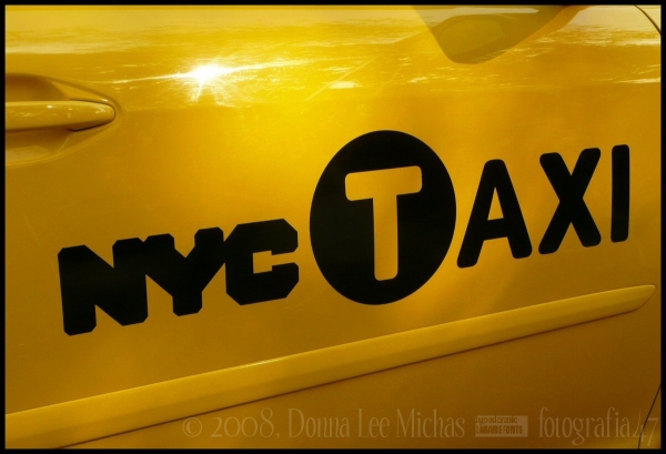 Premo shot of brand new Lexus NYC Yellow Cab.