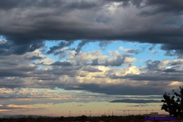 Color of a storm