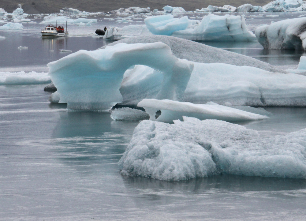 Bleu glacier...