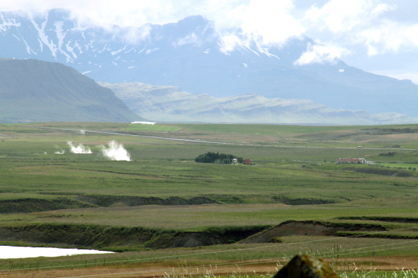 Vapeur / Steam in the landscape!