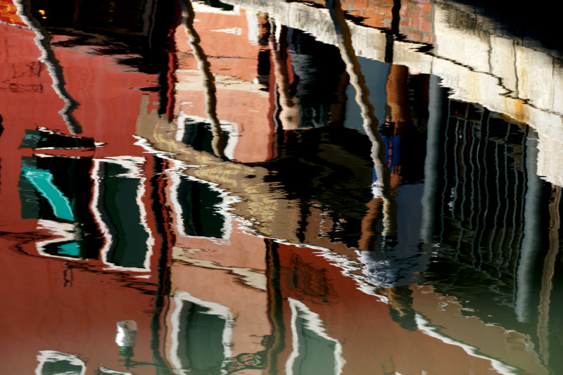 Burano, reflets...4/6