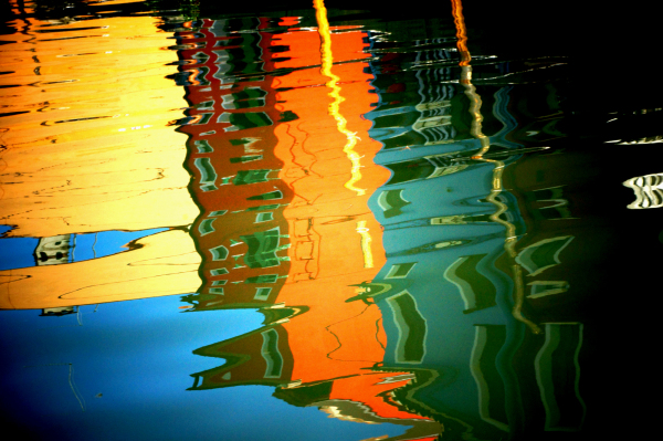 Burano, reflets...6/6