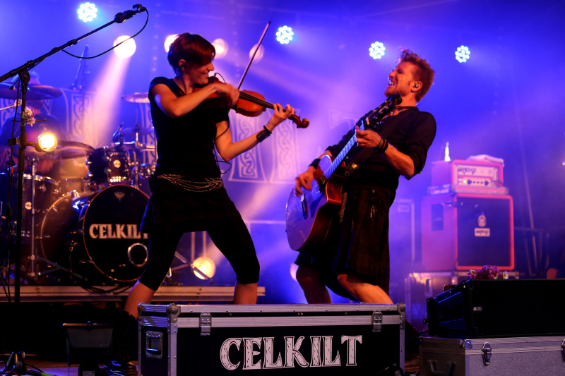 Concert de Rock Celtique