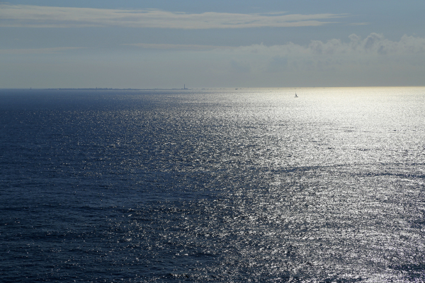 Ile à l'horizon