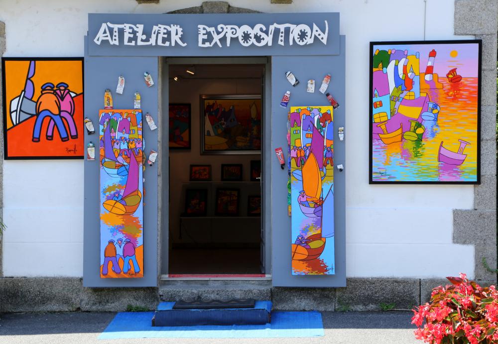 Galerie à Pont Aven