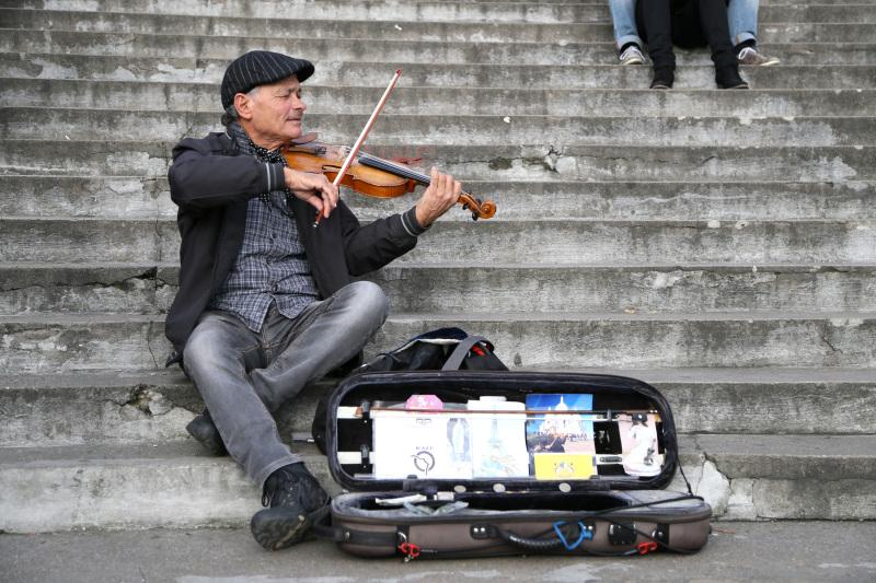 Le violoniste de Montmartre