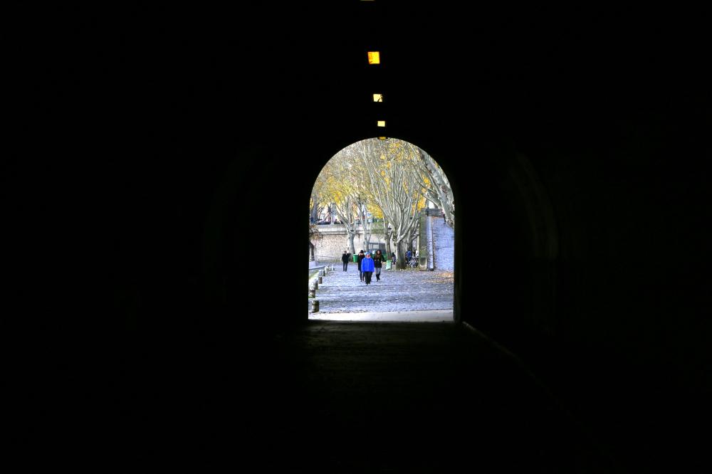 La sortie du tunnel