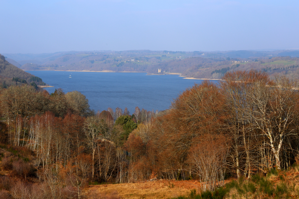 Lac de barrage