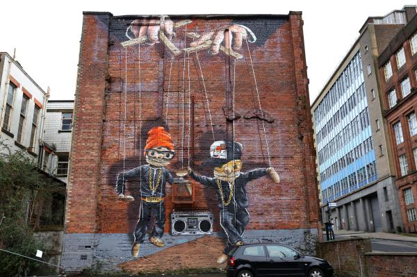 Les murs de Glasgow 1