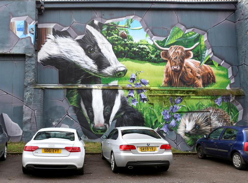 Les murs de Glasgow 4