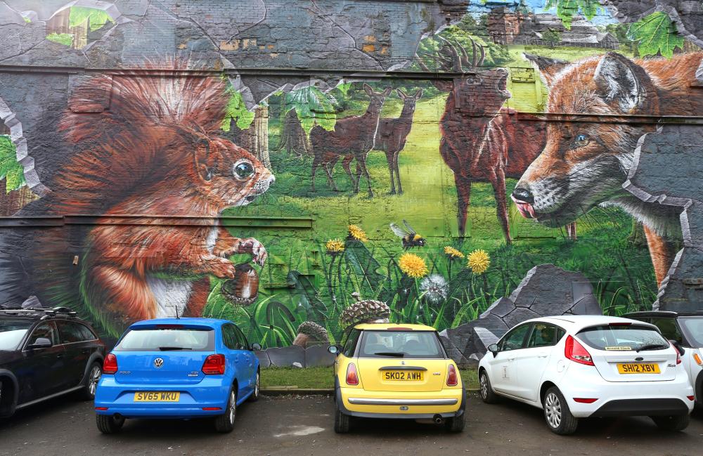 Les murs de Glasgow 5
