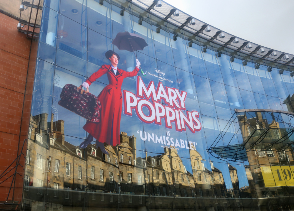 Mary Poppins à Edimbourg