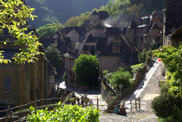 Conques, un beau village (2)