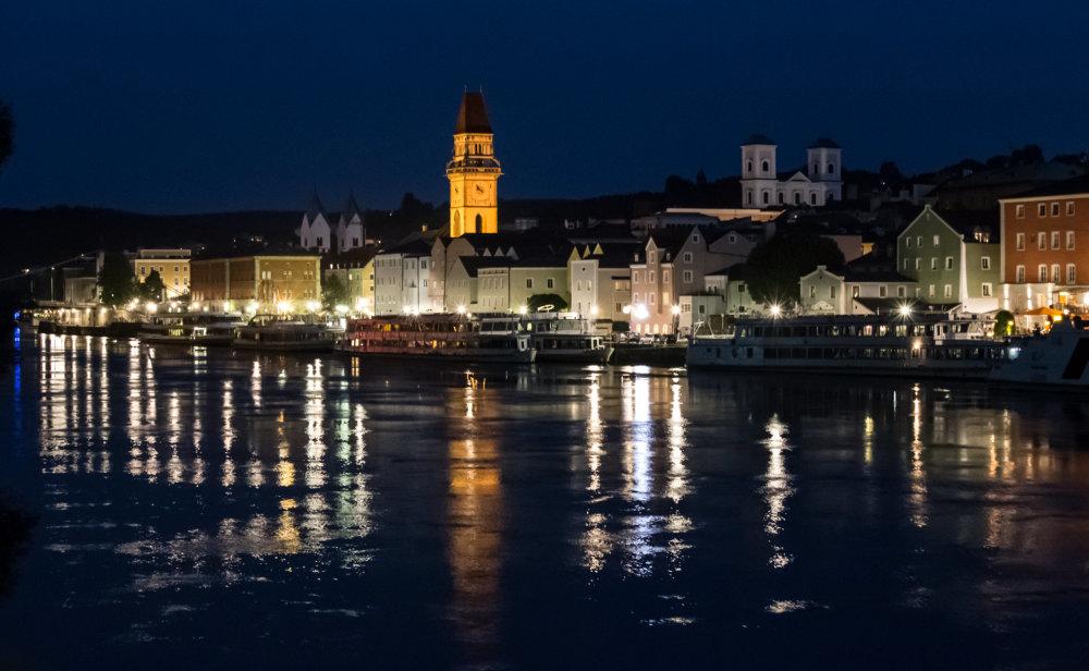 Passau la nuit