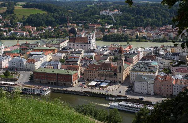 Passau le jour