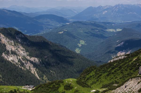 Vue de l' Alpspitze