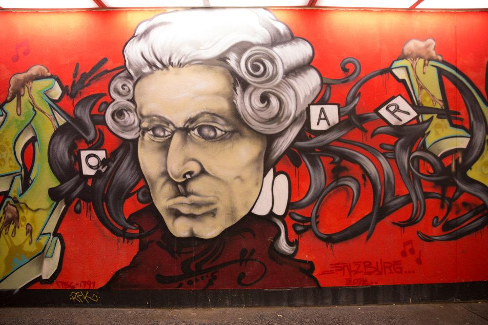 Mozart dans sa ville natale