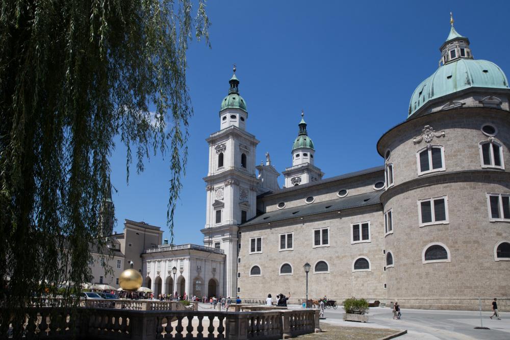 Salzbourg et sa cathédrale