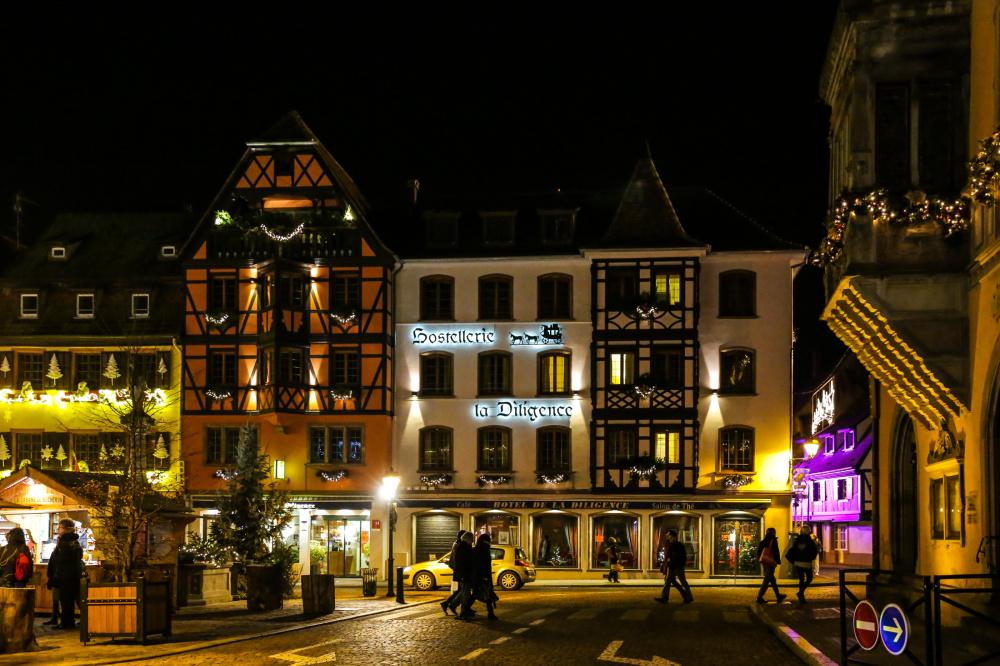 Soirée à Obernai